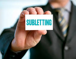 Subletting
