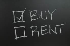Buying is cheaper than renting!